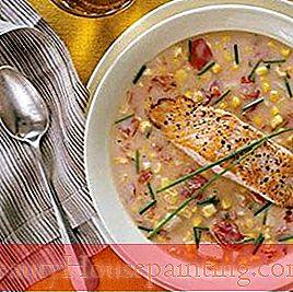 Mad Drikke: Corn and Tomato Chowder med laks